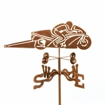 Pro Stock Motorcycle Weathervane