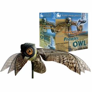 Prowler Owl Decoy by Bird-X - Click to enlarge