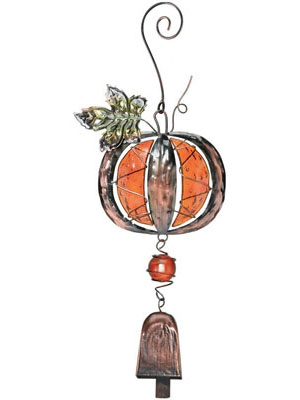 Pumpkin Bell Adornment - Click to enlarge