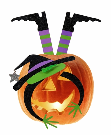 Pumpkin Kit - Halloween Witch - Click to enlarge