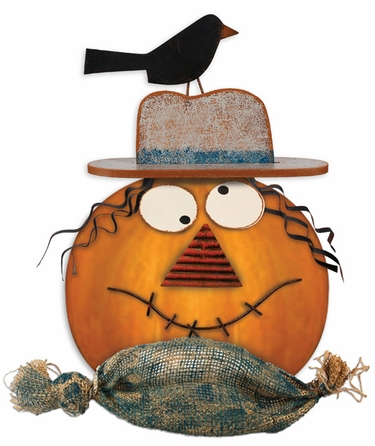 Pumpkin Kit - Scarecrow Decor - Click to enlarge
