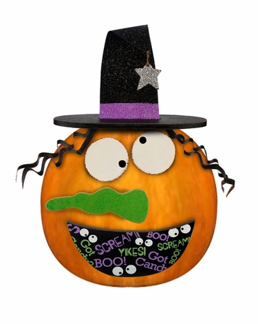 Pumpkin Kit - Silly Witch Face - Click to enlarge