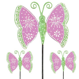 Purple Butterfly Picks (Set of 6) - Click to enlarge