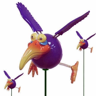 Purple Dodo Birds (Set of 6) - Click to enlarge