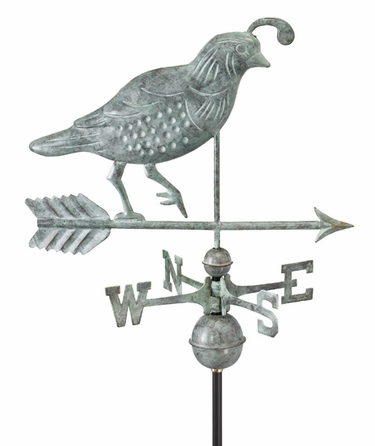 Quail Bird Weathervane - Click to enlarge