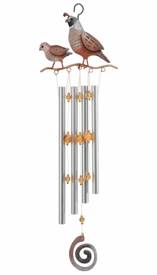 Quail Wind Chime - Click to enlarge