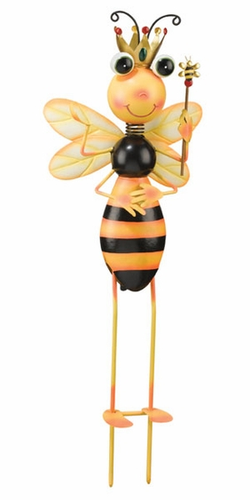 Queen Bee Garden Decor - Click to enlarge