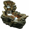 Rainforest Creek Three-Tier Fountain w/LED Lights
