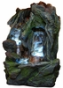 Rainforest Fantasy Tabletop Fountain w/LED Lights