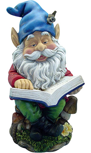 Reading Gnome - Click to enlarge