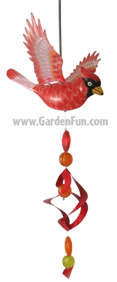 Red Cardinal Bird Bouncer - Click to enlarge