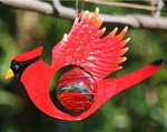 Red Cardinal Bird Glow Catcher