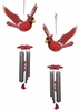 Red Cardinal Wind Chimes (Set of 2)