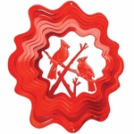 Red Cardinal Wind Spinner
