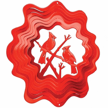 Red Cardinal Wind Spinner - Click to enlarge