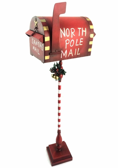 Red Christmas Mailbox - Click to enlarge
