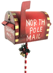 Red Christmas Mailbox