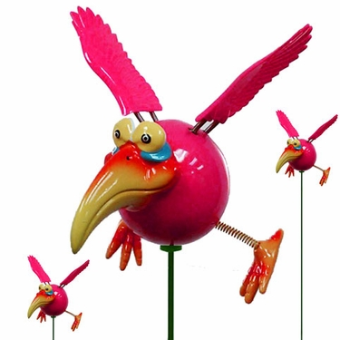 Red Dodo Birds (Set of 6) - Click to enlarge