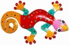 Red Spotted Gecko Wall Decor