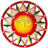 Red White Blue Sun Wall Decor