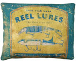 Reel Lures Outdoor Pillow