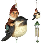 Riding Gnome Wind Chime