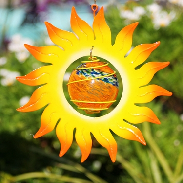 Rising Sun Glow Catcher - Click to enlarge