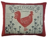 Rooster Rotisserie Outdoor Pillow