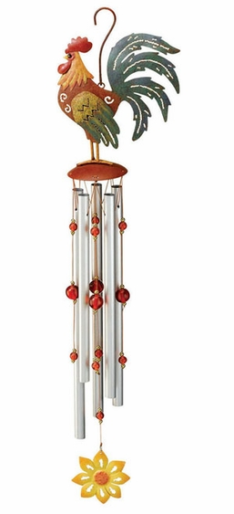 Rooster Wind Chime - Click to enlarge