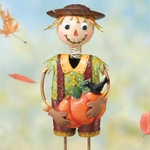 Scarecrow Boy Garden Decor