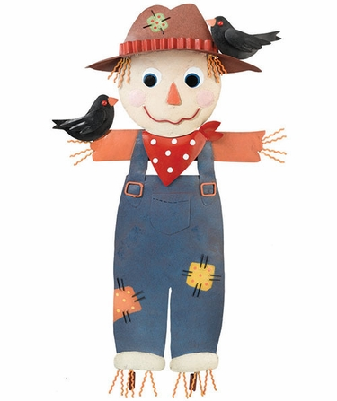 Scarecrow Decoration / Wall Decor - Click to enlarge