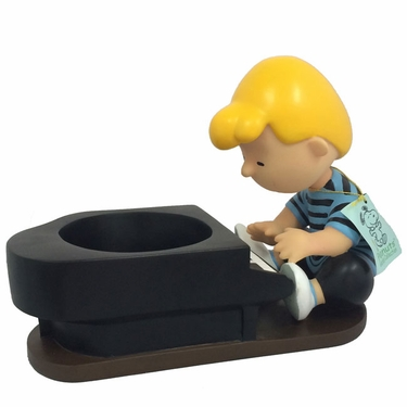 Schroeder Peanuts Beethoven - Painted Planter - Click to enlarge