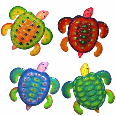 Sea Turtle Decor (Set of 4) - Click to enlarge