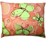 Sepia Butterflies Outdoor Pillow
