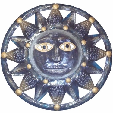 Silver Sun Wall Decor - Click to enlarge