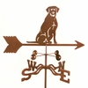 Sitting Lab Weathervane