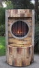 Slate Brick LED Fire & Water Fountain