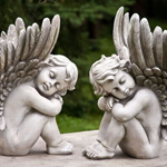 Sleeping Cherubs (Set of 2)