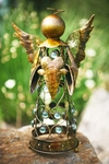 Small Filigree Angel Statue - Gold