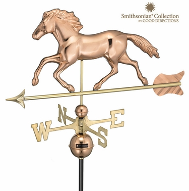 Smithsonian Horse Weathervane - Click to enlarge