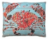 Snappy Crab Outdoor Pillow