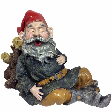 Snoring Merlin Gnome - Motion Activated - Click to enlarge