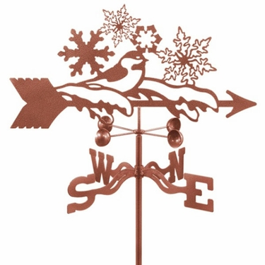 Snowflake Weathervane - Click to enlarge