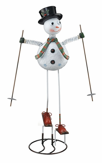 Snowman Garden Decor - Click to enlarge