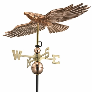 Soaring Hawk Weathervane - Click to enlarge