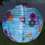 Soji Solar Lantern - Floral Bloom (Set of 8)