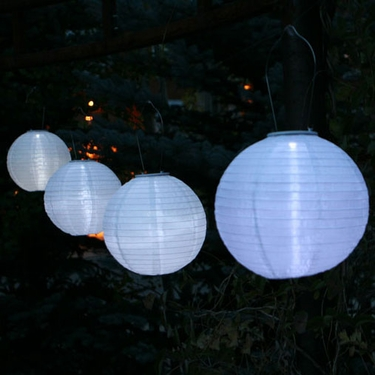 Soji Solar Lantern - Large White Illume - Click to enlarge
