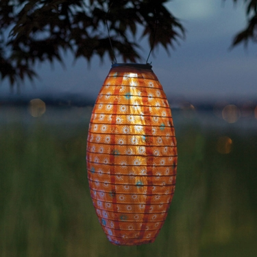 Soji Solar Lantern Pod - Retro Star - Click to enlarge