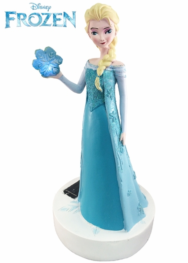 Solar Elsa Garden Statue - Disney's Frozen - Click to enlarge