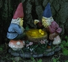 Solar Gnomes Playing Checkers